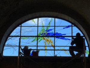 restauration de vitrail dans le Vaucluse